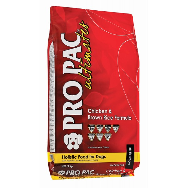 PRO PAC Ultimates Chicken Meal & Brown Rice Formula (для взрослых собак всех пород) - 2.5kg