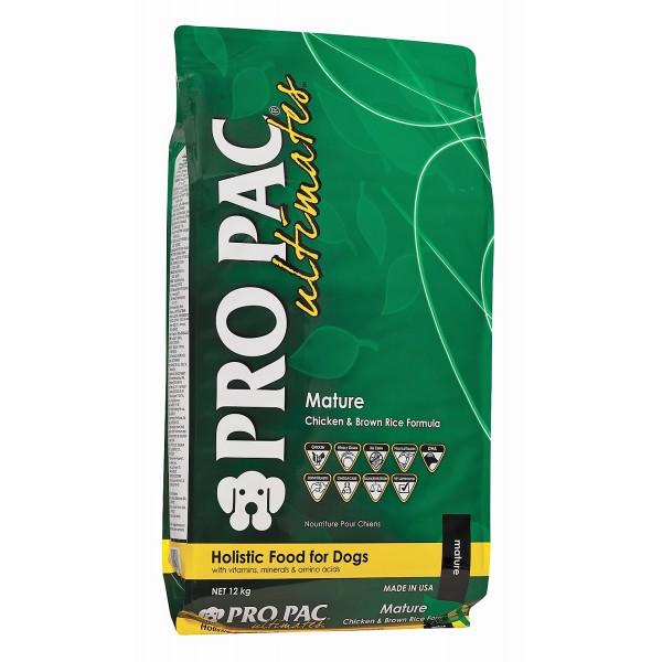 PRO PAC Ultimates Mature with Chicken Meal & Brown Rice (для пожилых собак и стерилизованных) - 2.5kg